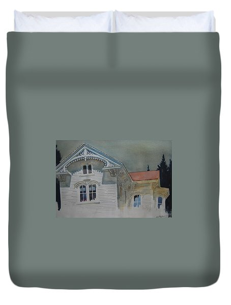 the Ginger Bread House Duvet Cover