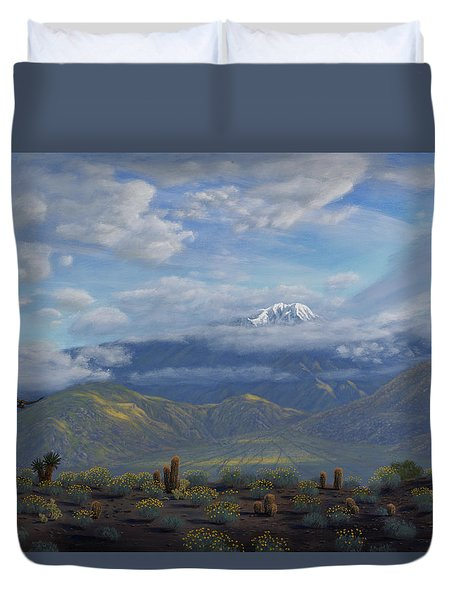 The Giver Of Life Duvet Cover by Mark Junge