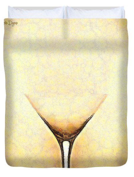 The Glass - Pa Duvet Cover