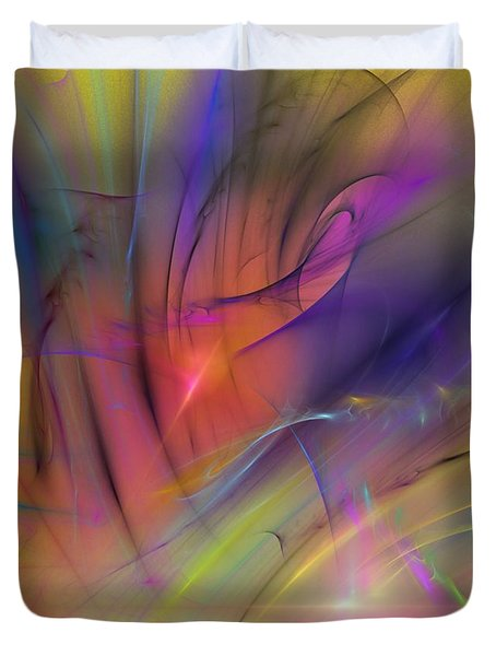 The Gloaming Duvet Cover by David Lane