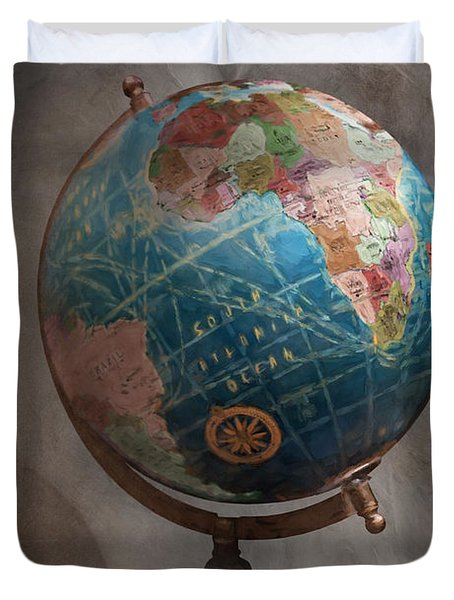 The Globe Duvet Cover