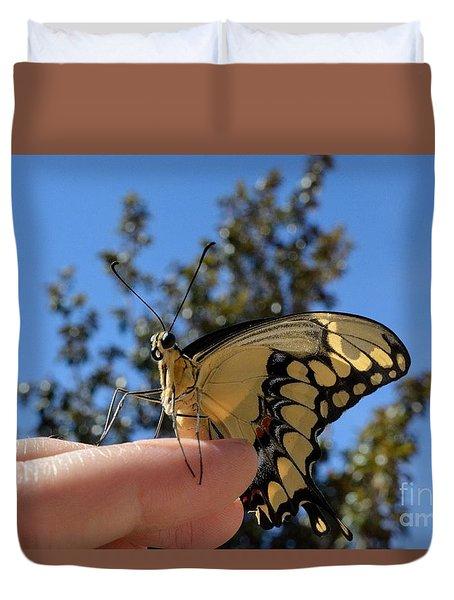 The Glorious Swallowtail  Duvet Cover