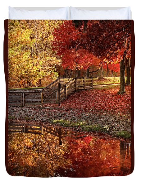 The Glory Of Autumn Duvet Cover