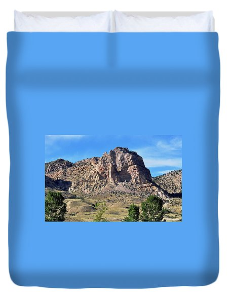 The Glory Of Wyoming Duvet Cover