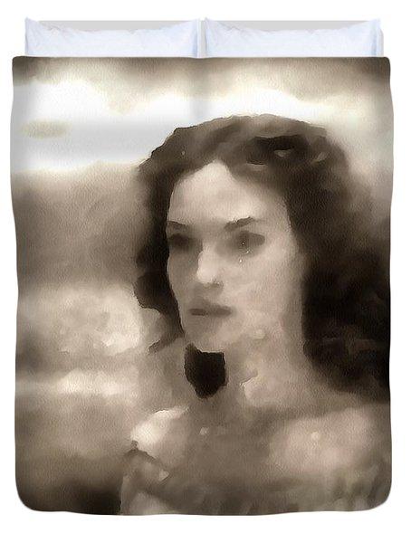 The Goddess Hera Duvet Cover