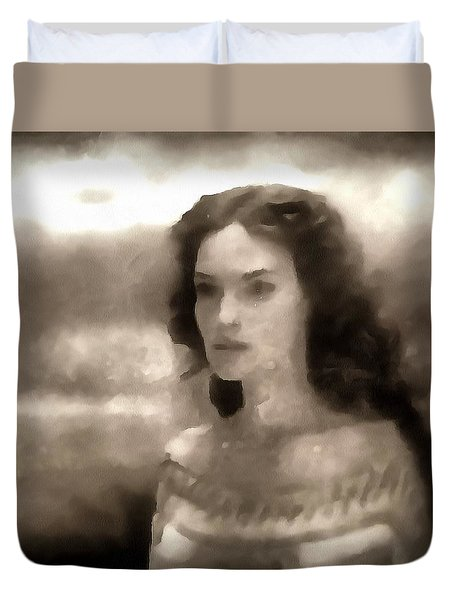 The Goddess Hera Duvet Cover