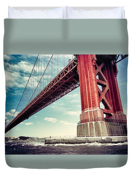 The Golden Gate Duvet Cover