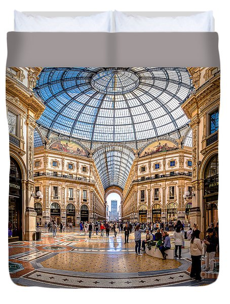 The Golden Hall Duvet Cover by Giuseppe Torre