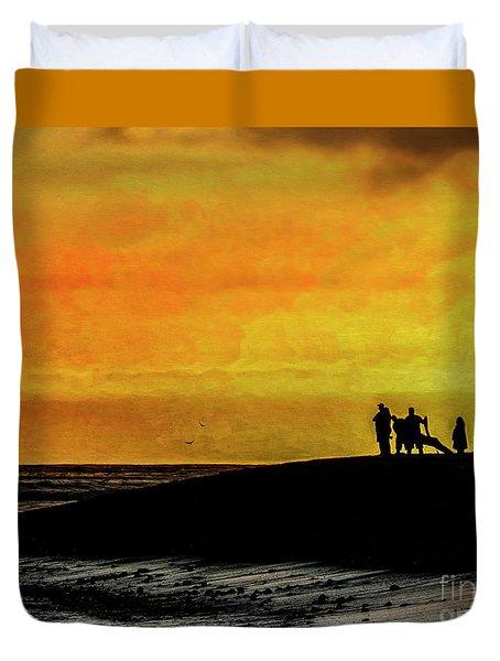 The Golden Hour II Duvet Cover