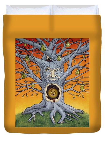 The Golden Pear Duvet Cover
