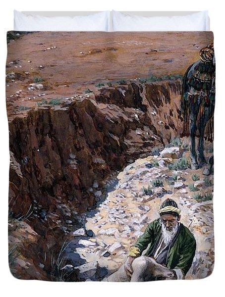 The Good Samaritan Duvet Cover by Tissot