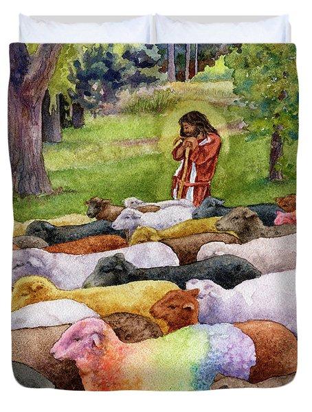 The Good Shepherd Duvet Cover