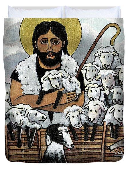 The Good Shepherd - Mmgoh Duvet Cover