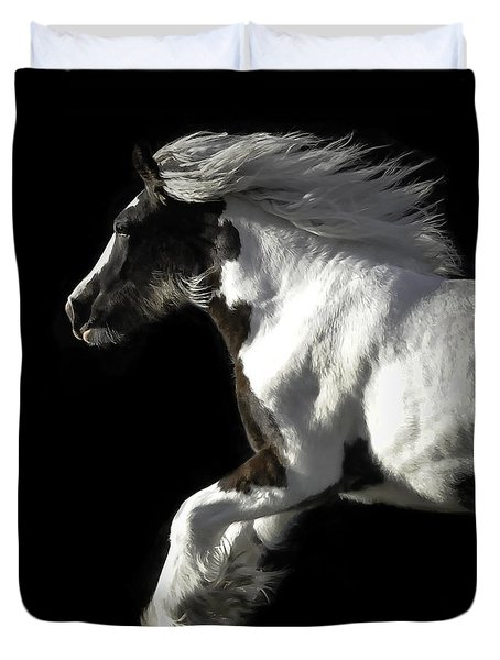 The Gorgeous Filly Duvet Cover