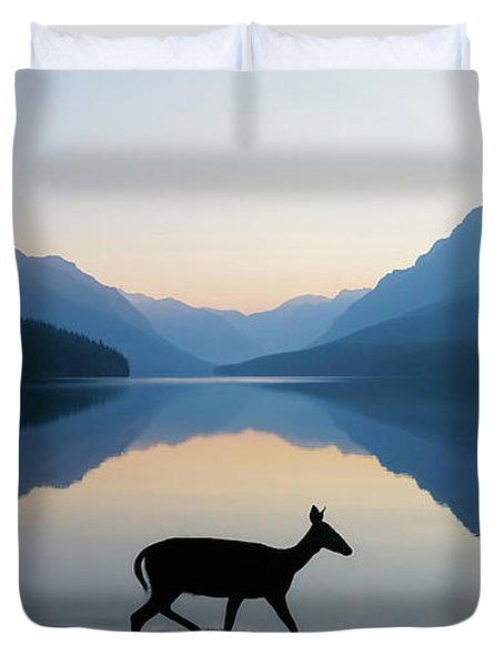 The Grace Of Wild Things Duvet Cover