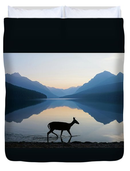 The Grace Of Wild Things Duvet Cover by Dustin  LeFevre