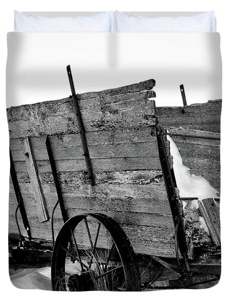 The Grain Wagon Duvet Cover