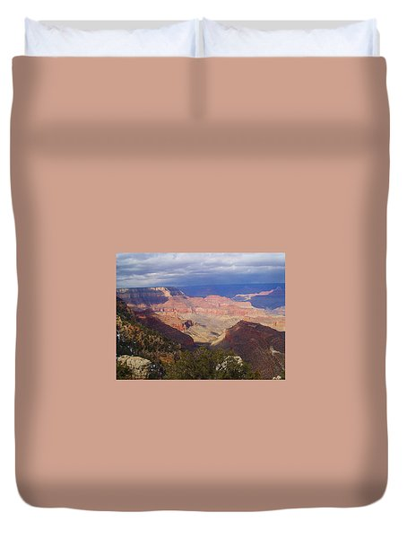 Duvet Cover featuring the photograph The Grand Canyon by Marna Edwards Flavell