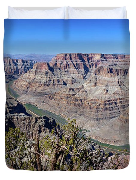 The Grand Canyon Panorama Duvet Cover