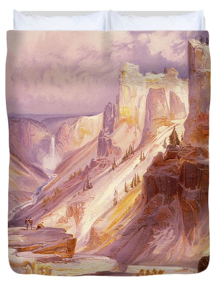 The Grand Canyon, Yellowstone Duvet Cover