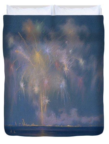 The Grand Finale Duvet Cover by Lendall Pitts