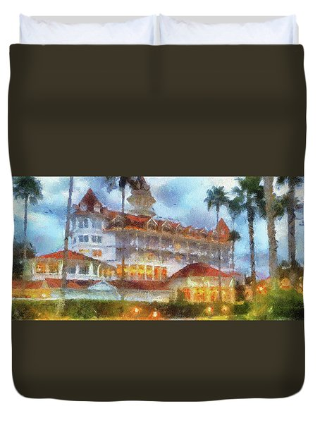 The Grand Floridian Resort Wdw 01 Photo Art Mp Duvet Cover