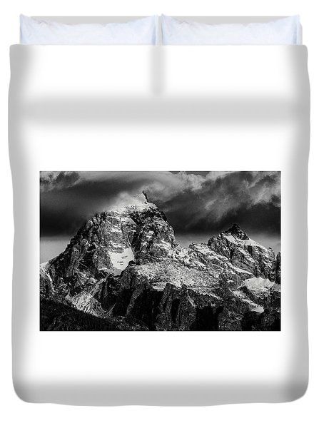 The Grand Teton Duvet Cover by Gary Lengyel