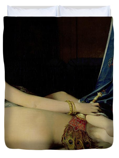 The Grande Odalisque Duvet Cover by Ingres
