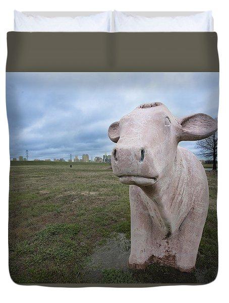 The Granite Cow Duvet Cover