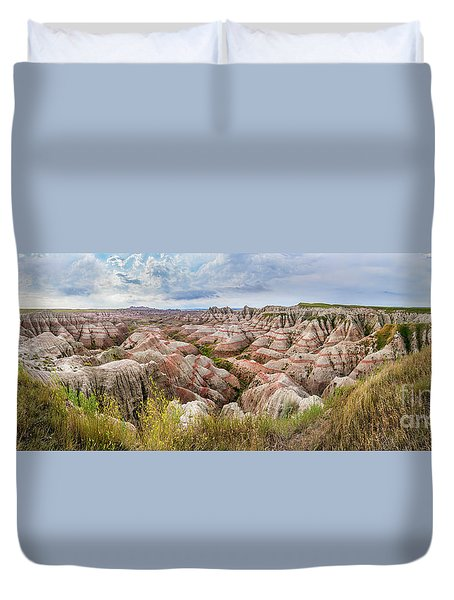 Deep And Wide Panorama Duvet Cover