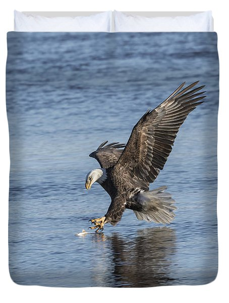 The Great American Bald Eagle 2016-8 Duvet Cover