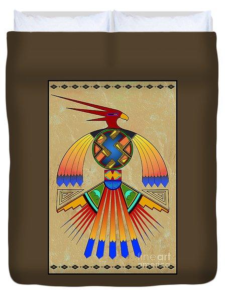 The Great Bird Spirit Duvet Cover