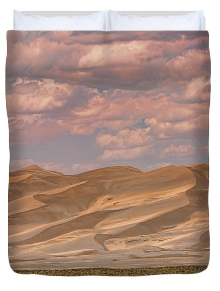The Great Colorado Sand Dunes  177 Duvet Cover by James BO  Insogna