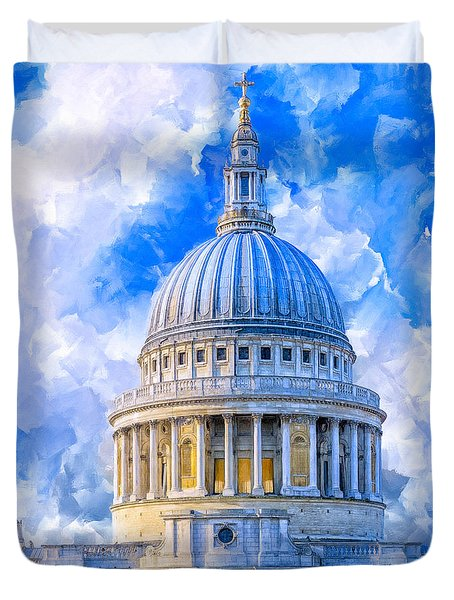 The Great Dome - St Paul's Cathedral Duvet Cover