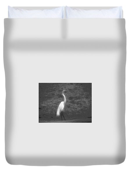 The Great Egret Duvet Cover