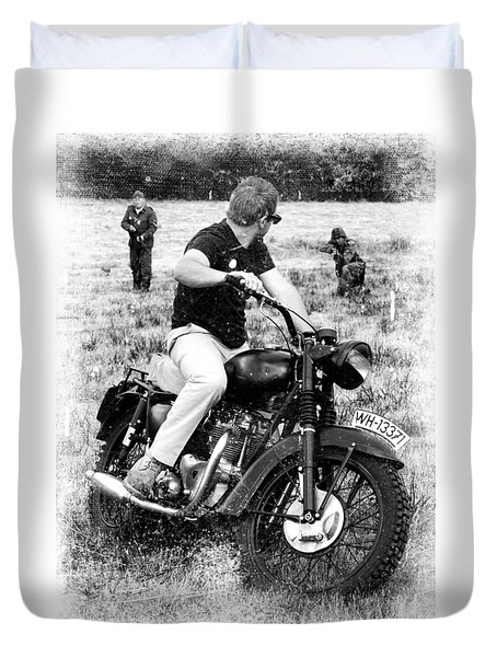 The Great Escape Duvet Cover by Mark Rogan