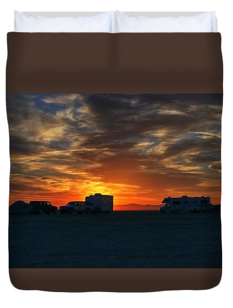 The Great Gig In The Sky Duvet Cover