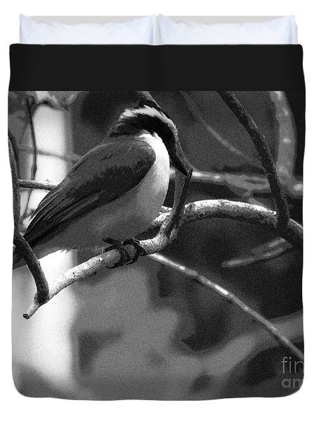The Great Kiskadee  Duvet Cover