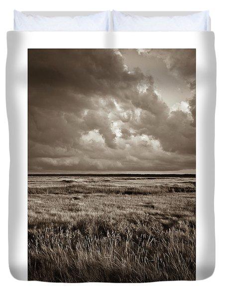 The Great Marsh Duvet Cover
