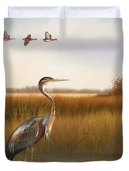 The Great Marsh-jp2859 Duvet Cover