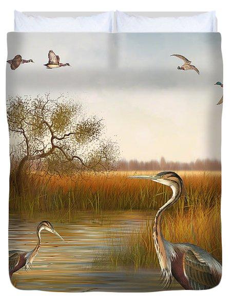 The Great Marsh-jp2860 Duvet Cover