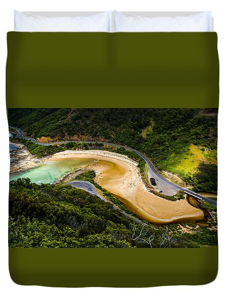 The Great Ocean Road Duvet Cover