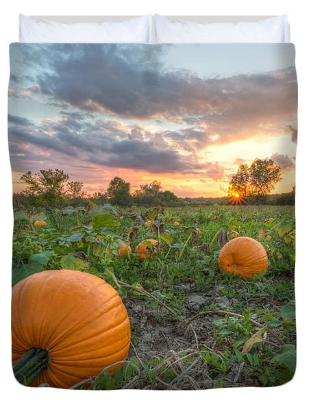 The Great Pumpkin Duvet Cover