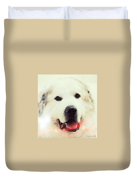The Great Pyrenean Duvet Cover