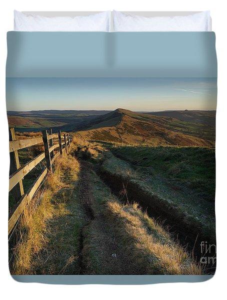 The Great Ridge Duvet Cover
