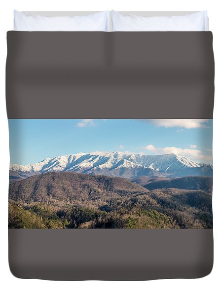 Duvet Cover featuring the photograph The Great Smoky Mountains II by Everet Regal