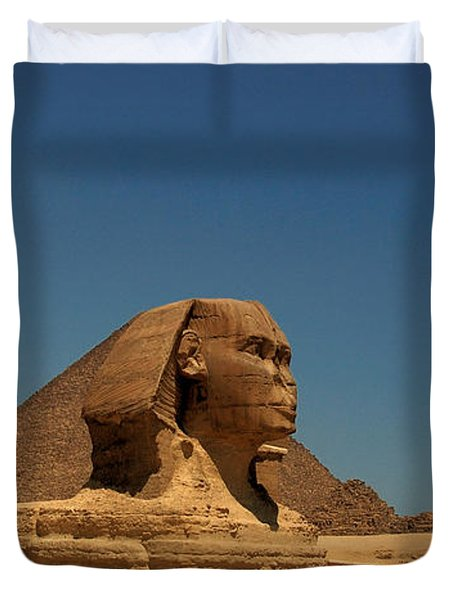 The Great Sphinx Of Giza 2 Duvet Cover by Joe  Ng