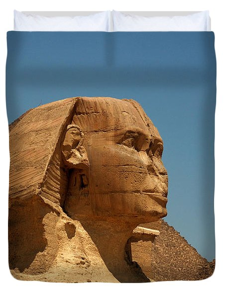 The Great Sphinx Of Giza Duvet Cover by Joe  Ng
