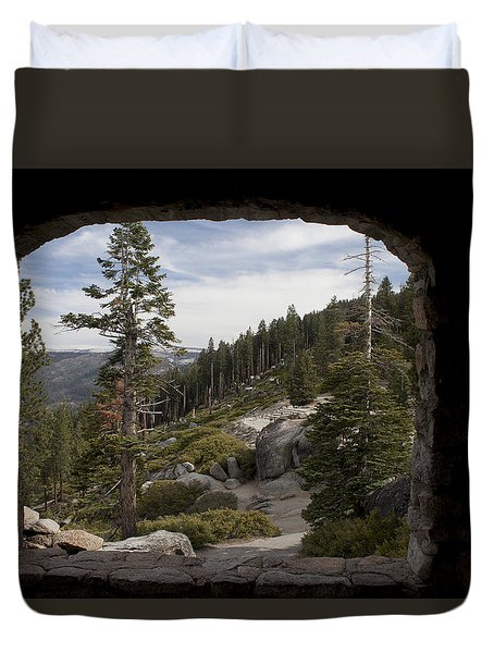The Great View Of Yosemite Duvet Cover by Ivete Basso Photography