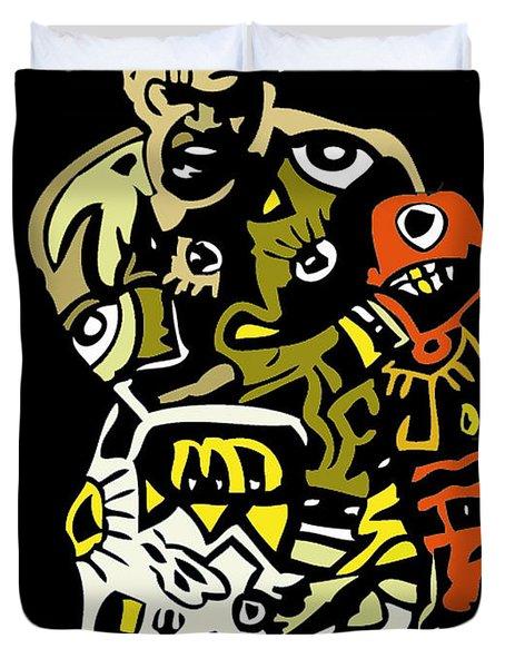 The Greatest  Duvet Cover by Kamoni Khem